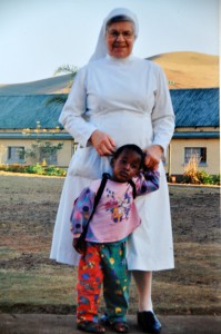 Sister Elkana, one of the founders of St. Joseph in 1988