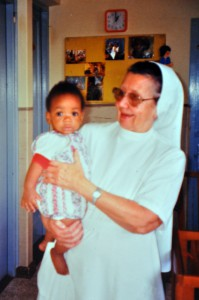 Sister X, one of the founders of St. Joseph in 1988